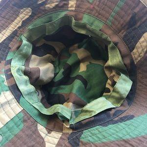 Accessories - 4 FOR $20! Camo Printed Safari Style Bucket Hat.